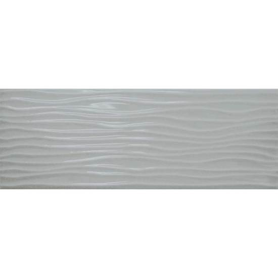 American Olean Urban Canvas Light Smoke Wave Tile